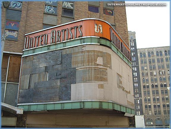 Photo Du Jour – November 18, 2005 – The next to go? The United Artists Building