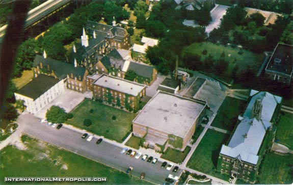 Assumption College From The Air