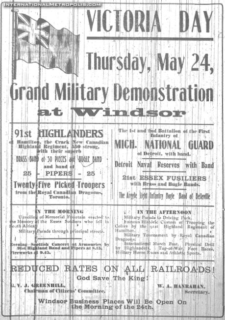 Fountain Unveiling – May 24, 1906