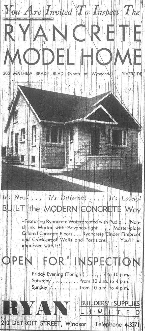The Ryancrete Model Home