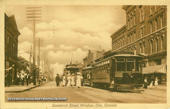 Sandwich Street – 1913
