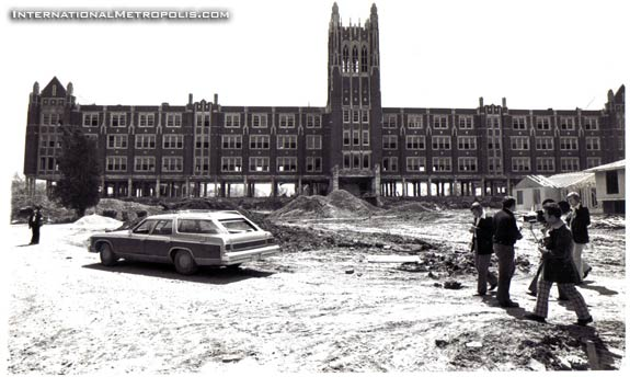 St. Mary's Demolition – 1977