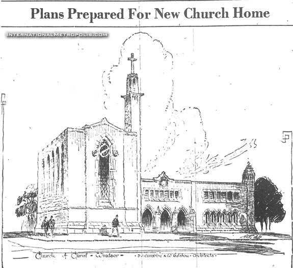 Proposed Church Of Christ