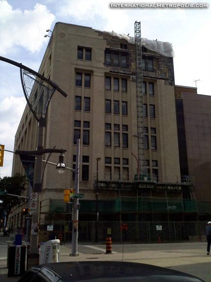 Repairs At The Paul Martin Building