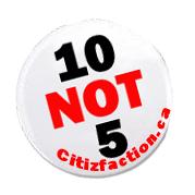 Citizfaction.ca – 10 not 5