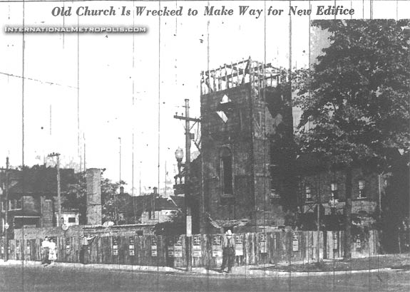The End Of Bruce Baptist Church