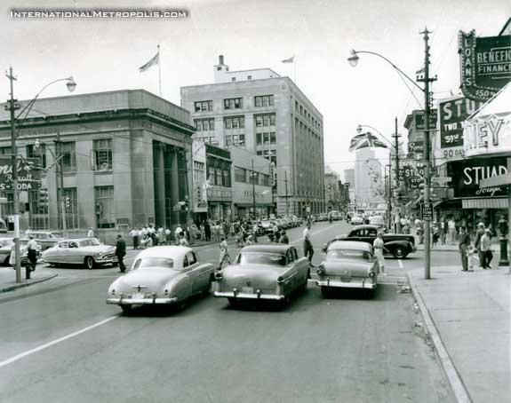 Ouellette & University – July, 1958